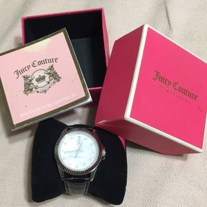 Authentic Juicy Couture diamond watch in box